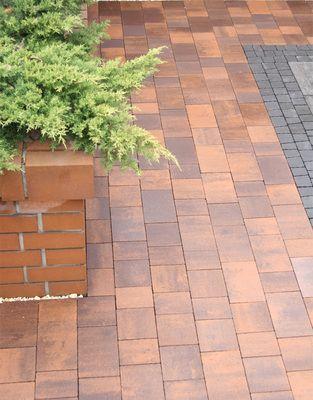 Тротуарная плитка Плац (серый) (6 см) цена