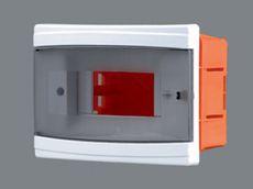 Щиток пластиковый на 2-6 модулей с дверцей (внутренний) BR 803