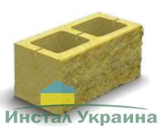 Блок декоративный (односторонний скол) М-200 400х200х200 (персиковый)