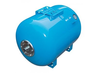 Гидроаккумулятор 100л VOLKS pumpe 10bar гор. (с манометром) цена