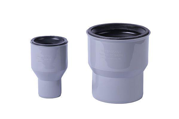 Interplast переход чугун/пластик 50х72 для внутренней канализации