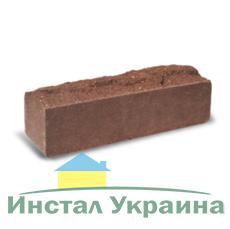 Кирпич Литос узкий скала тычковой полнотелый бордо