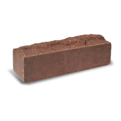 Кирпич Литос узкий скала тычковой полнотелый бордо цена