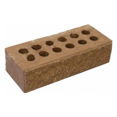 Кирпич Литос стандартный колотый с фаской шоколад