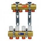 купить Коллектор Giacomini в сборе для системы отопления 1` X18 /12 ходов
