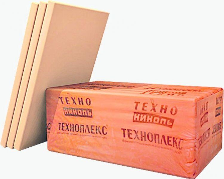 Техноплекс 40 32-250 1180*580, Экструдированный пенополистирол (0,68м2)
