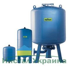 Гидроаккумулятор вертикальный Reflex Refix DE 7354200 5000L DE (синий) 10 бар (мембрана сменная)