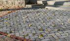 купить Тротуарная плитка Кирпич Барселона Антик 192х60 (серый) для пешеходной зоны (4 см)