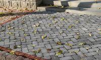 Тротуарная плитка Кирпич Барселона Антик 192х60 (серый) для пешеходной зоны (4 см)