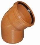 купить Interplast колено 110 / 15° для наружной канализации