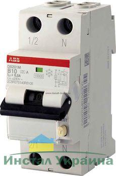 ABB Дифференциальный автоматический выключатель DS201 C40 A100 (2CSR255140R2404)