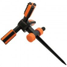 Поливочный Ороситель вращающийся TRIO , трехрожковый, штыковой