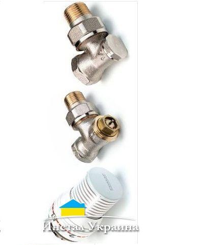 Комплект угл. термостатический 1/2 `Comap`808504