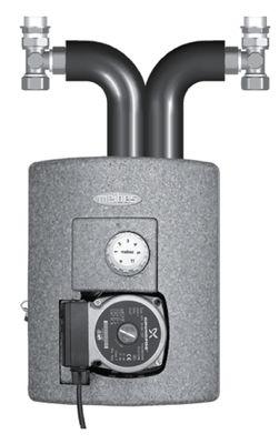 Meibes смесительная группа Thermix TH с насосом Wilo Pumpe HU 15/4-2-3 цена