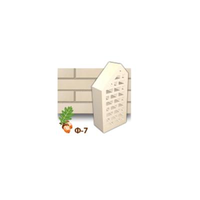 Клинкерный кирпич фасонный Ф7 Керамейя Жемчуг цена