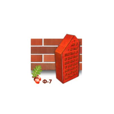 Клинкерный кирпич фасонный Ф7 Керамейя Рубин