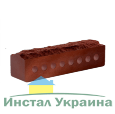 Кирпич Литос узкий скала бордо