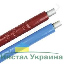 Труба KAN PE-RT (LPE Dowlex) с антидиффузионной защитой 18x2,5 изоляция голубая 6mm (0.2175-6N)