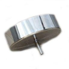 Окапник, лейка, дека из нержавеющей стали (AISI 321) ф140