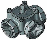 """3-ходовой смесительный клапан Meibes Elomix ЕМ3-20-4 Ду20 (Kvs 4 м. куб./час), подключение 3/4"""" ВР"""