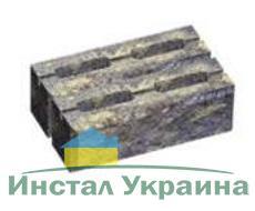 Блок малый декоративный для столба (двухсторонний скол) М200 300х200х100 (коричневый)