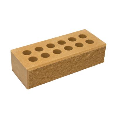 Кирпич Литос стандартный колотый с фаской терракот