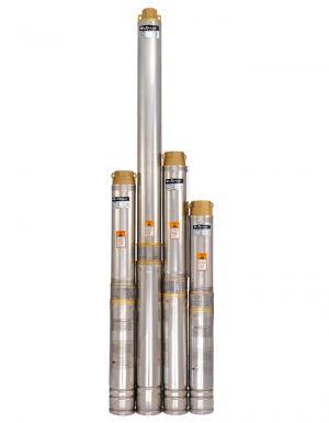 Глубинный насос Sprut 100QJ 512-1.5 нерж. + пульт