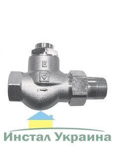Радиаторный вентиль Herz RL-1-E для однотрубных систем 1/2