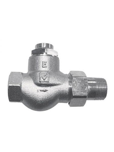 Радиаторный вентиль Herz RL-1-E для однотрубных систем 1