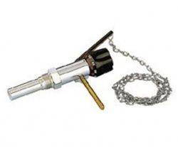 Caleffi регулирующий клапан тяги твердотопливного котла 3/4`