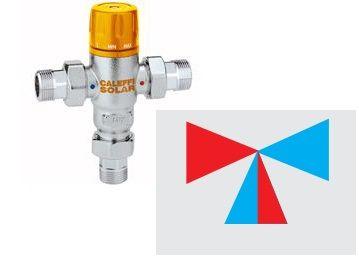 Caleffi Solar термосмеситель 1/2` 2,6 (252140) цена