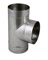 ТРОЙНИК из нержавеющей стали (AISI 304) 90 град; 1,0 мм ф150
