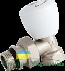 AS кран радиаторный 1/2` угловой