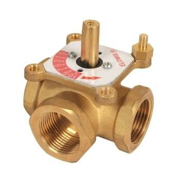 """3-ходовой смесительный клапан Meibes Elomix ЕМ3-20-6 Ду20 (Kvs 6 м. куб./час), подключение 3/4 """"ВР"""