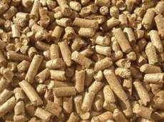 Пеллеты твердых пород дерева (дубовые) 1 тонна