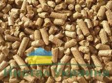 Пеллеты твердых пород дерева  1 тонна