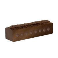 Кирпич Литос узкий скала шоколад