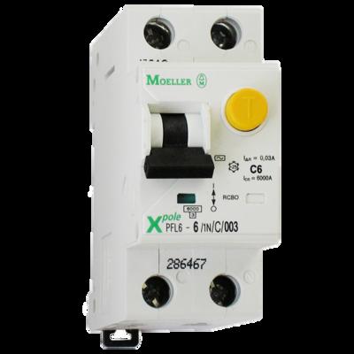 Eaton Дифференциальный автоматический выключатель PFL6-25/1N/C/0,03 (286469) цены