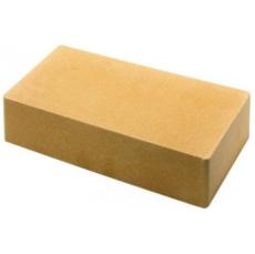 Кирпич Литос стандартный полнотелый желтый
