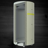 Теплоаккумулирующая емкость KRONAS без спирального темлообменника 2000 (с теплоизоляцией)