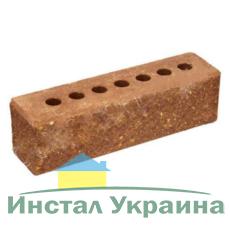 Кирпич Литос узкий колотый тычковой с фаской красный