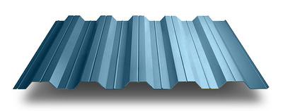 Профнастил ПС-57 стеновой 0,45 х 1025/960 мм. Алюмоцинк Arselor Корея цены