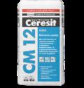 Ceresit CM 12 Клеящая смесь для керамогранита Gres (25 кг.)