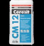 купить Ceresit CM 12 Клеящая смесь для керамогранита Gres (25 кг.)