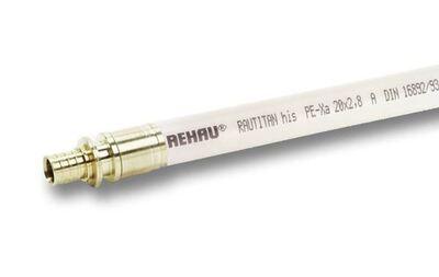 Труба Rehau Rautitan his (PE-Xa) 16х2,2 мм, бухта 100 м (137010-100) цены