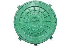Люк дачный д.600 зеленый 0,3 Т