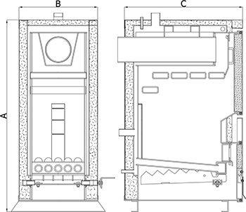 Твердотопливный котел Heiztechnik Holz 17