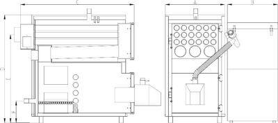 Твердотопливный пеллетный котел Heiztechnik MAXPell Duo 630 цены
