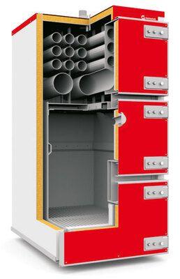 Котел на угле Heiztechnik Q Max Plus 90 цена