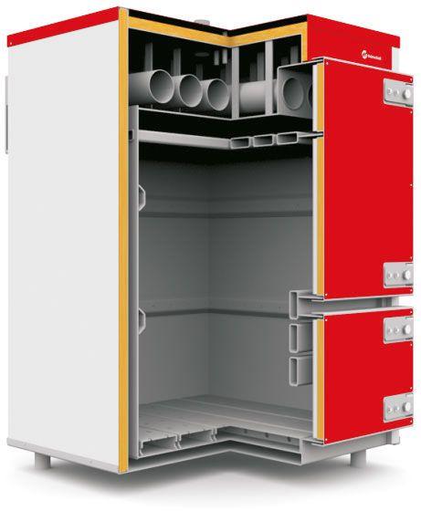 Твердотопливный котел Heiztechnik Q Plus Agro 300